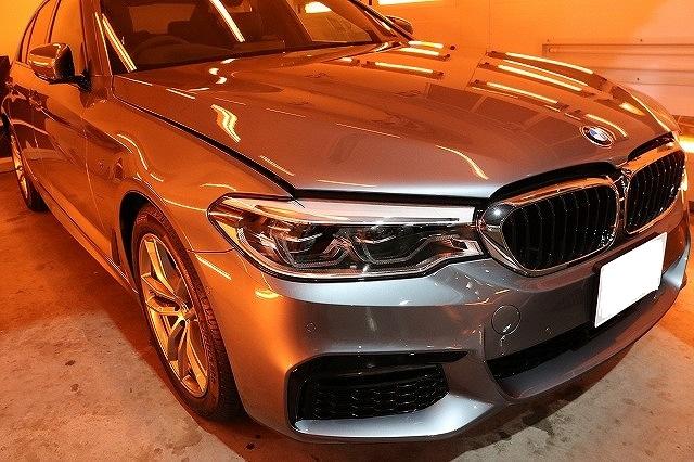 BMWコーティング乾燥
