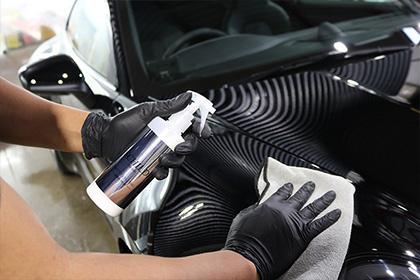 車の細かい傷を埋める