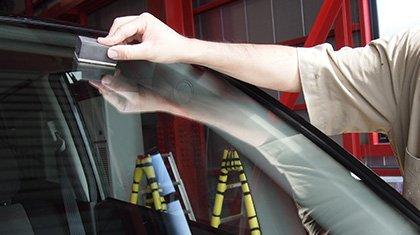 窓ガラスコーティング施工方法