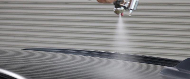 クォーツガラスコーティング 吹き付け塗布